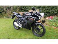 £100 Off Black Friday Weekend - Honda CBR 125 - 2016, v low miles, 1 owner, free delivery & warranty