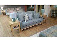 Brand New ANTA Scotland Frederick Sofa Ben Macdui Lowland Tweed Oak Base £2900
