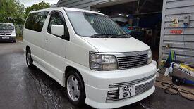 Nissan elgrand automatic 3300 petrol
