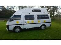 Bedford midi high top camper van