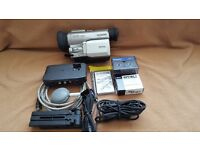 PANASONIC MINI DV CAMCORDER. NV DX110