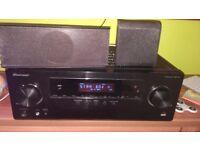 Pioneer VSX-531 5.1-Channel AV Receiver + speakers