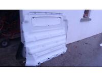 Vivaro / trafic SWB Bulkhead & panel protectors