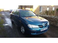 Nissan Almera Blue Elderly owner and looked after