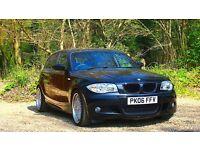 BMW 1 Series 2.0 120d M Sport 5dr EXCELLENT DRIVE 1 YEAR MOT 2006 (06 reg), 104,400 miles Diesel