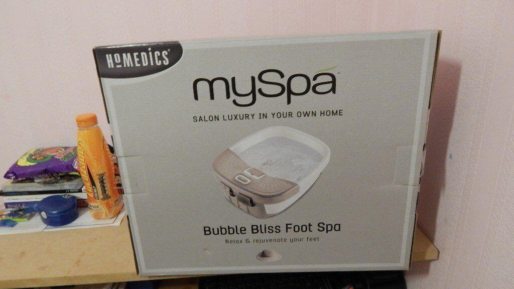 homedics myspa foot spa