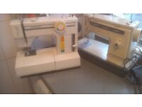 Singer sewing machine plus toyota sewing machine x2
