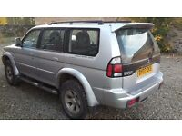 Mitsubishi Shogun Sport for Sale