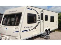 Bailey Pageant Limousin - Fixed Bed Caravan - Twin Wheels - Excellent condition - Smoke Free