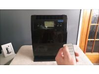 Futura Air Purifier With Activated Carbon FilterHEPA With Ionizer,LCD Display,Timer & Remote Control