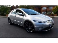 2010 (60) Honda Civic 2.2 Diesel Executive EVERY EXTRA LOW MILEAGE IMMACULATE HPI CLEAR