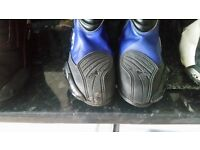 alpine star motor cycle boots size 8