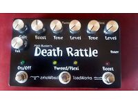 Toadworks Death Rattle Overdrive & Boost pedal