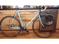 Fast and lightweight Gary Fisher Triton Singlespeed/Fixie bike