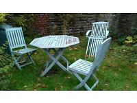Garden furniture and birdbaths