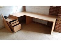 Office / Study desk with drawers