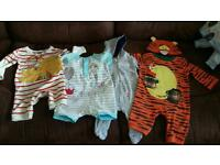 Job Lot of Winnie the Pooh Outfits
