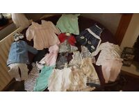 Girls 6-9months bundle lots of different brands including Next,Sarah louise, tedbaker,