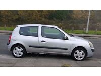 2004 (54) Renault Clio 1.1 Sliver Manual 3Doors With 12 Month MOT PX Welcome
