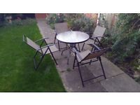 Garden/Outdoor Table and 4xChair Set! FOR SALE!