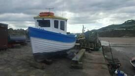 19ft fishing boat inboard engine