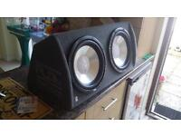 Fli Twin-Active 2000w Subwoofer