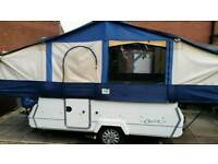 2005 conway cruiser folding camper with motor mover