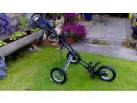 Sun Mountain..Speed Cart.. 3 Wheel Push/Pull Golf Trolley