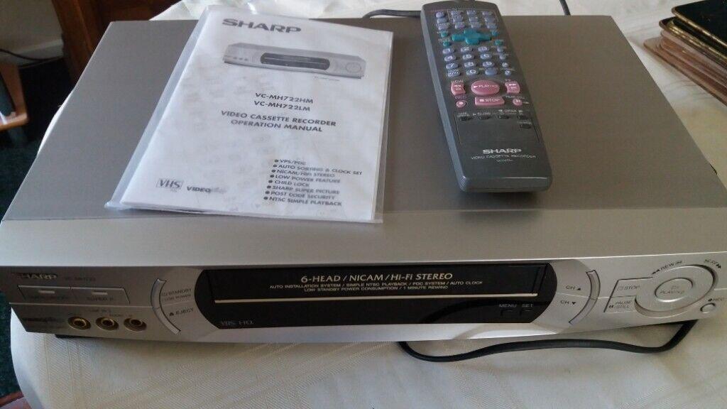 Sharp video cassette recorder | in Wells, Somerset | Gumtree