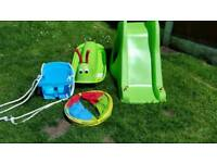 Outdoor garden toys set