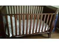 Cot bed + mattress (very good condition)