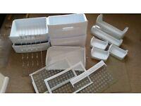 fridge shelves, freezer baskets- Hotpoint ffa97