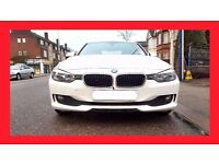 White -- 2014 BMW 3 Series 2.0 320d -- Diesel Auto -- EfficientDynamics Start/Stop BMW 320D 3 series