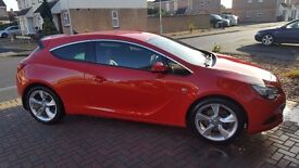 Vauxhall astra gtc sri 1.4 turbo 2k extras