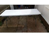 6ft folding catering table