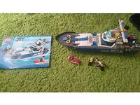 Lego City Police Boat (7287)