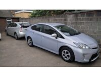 Toyota Prius Hybrid PCO Car Hire Uber Ready Rental for Taxi Mini Cab Rent from £99