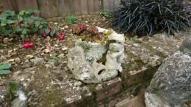 Westie garden ornament