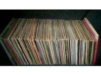 Vinyl record collection classical/pop