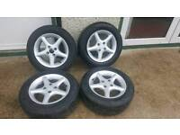 14 inch 4 x100 with good tyres