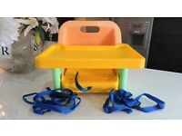 MOTHERCARE DELUXE FOLD UP BOOSTER SEAT / HIGHCHAIR