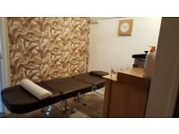 Treatment/beauty room for rent in Boness
