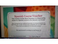 x2 discounted Spanish language beginner course vouchers - central Bristol starting Jan '17 - £120