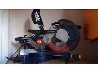 MAC ALLISTER 1800W 254MM SLIDING COMPOUND MITRE SAW with laser pointer