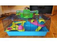 De Luxe hamster cage