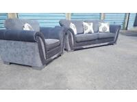 DFS 3 Seater sofa and chair ex Condition