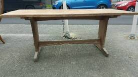 Lovely 6ft by 3ft refectory table