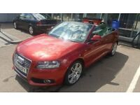 Audi A3 S-Line Cabriolet 2010 1.6 tdi not BMW,MERCEDES