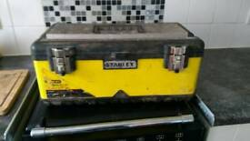 Stanley fatmax tool box and tools