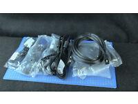 6 x VGA 1 x 15 way Monitor Cables (NEW)